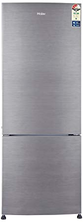 Haier-320-L-Frost-Free-Double-Door-Bottom-Mount-3-Star-Refrigerator-Brushline-Silver