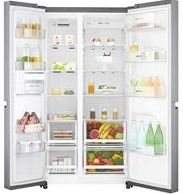 LG-687-L-Frost-Free-Side-by-Side-Refrigerator-Shiny-SteelPlatinum-Silver