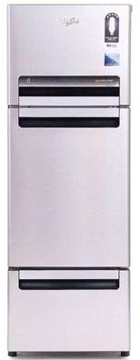 Whirlpool-240-L-Frost-Free-Triple-Door-Refrigerator-Alpha-Steel