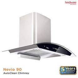 Hindware-Nevio-90-Auto-Clean-Auto-Clean-Wall-Mounted-Chimney
