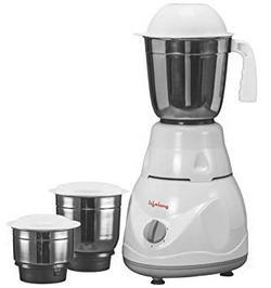 Lifelong-Power-Pro-500-Watt-Mixer-Grinder-with-3-Jars-WhiteGrey
