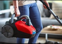 Philips-FC8293-Hand-held-Vacuum-Cleaner-Red-Black