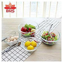 BMS-Lifestyle-Borosilicate-Glass-Bowl-Set-Clear-Pack-of-4
