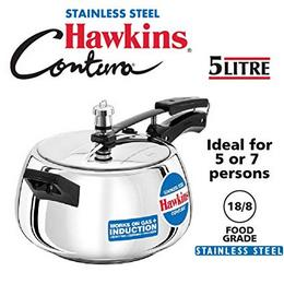 Hawkins-Stainless-Steel-5-L-Induction-bottom-Pressure-Cooker