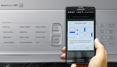 Samsung-Smartcheck-washing-machine-technology