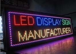 Application specific LED used in LED display board